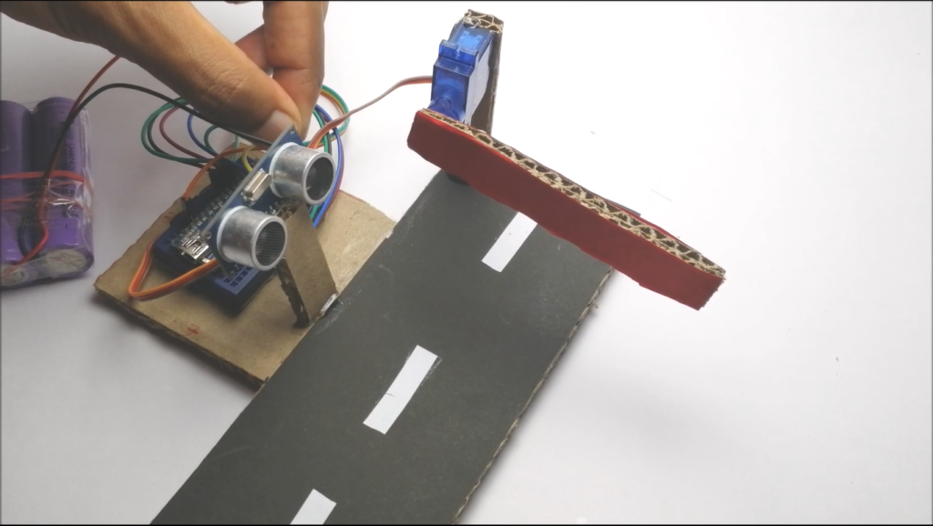 HOW TO MAKE ARDUINO TOLL TAX BARRIER