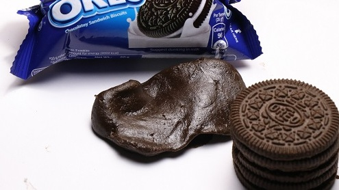 How to make slime from Oreo