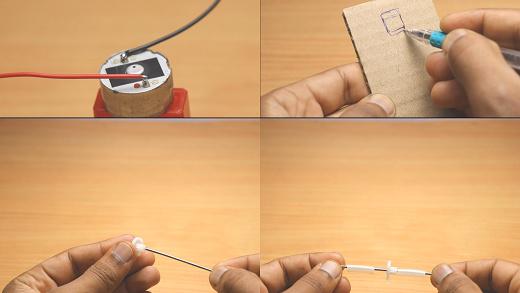 Mini solar car making