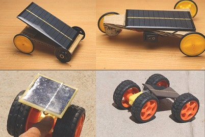Solar powered cars making