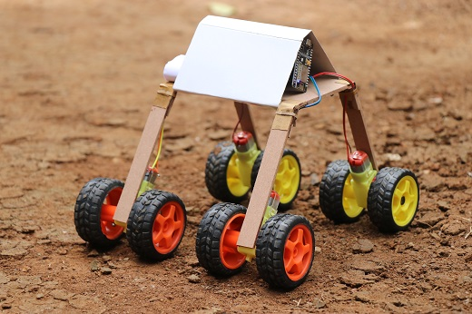 Smartphone controlled Rover