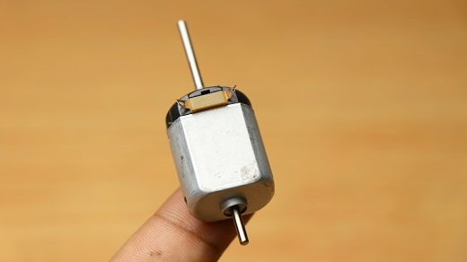 double shaft toy dc motor