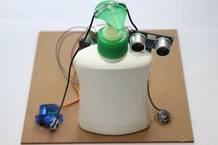 automatic hand sanitizer project