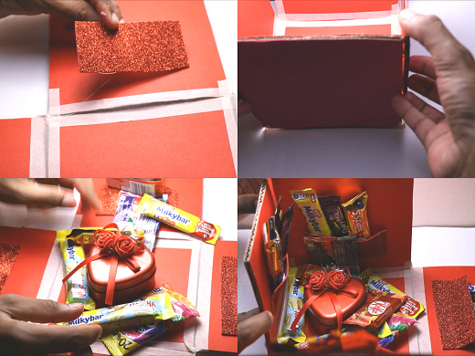 valentine gift ideas chocolate box making