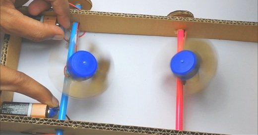 You are currently viewing Make Mini Fan From Cardboard