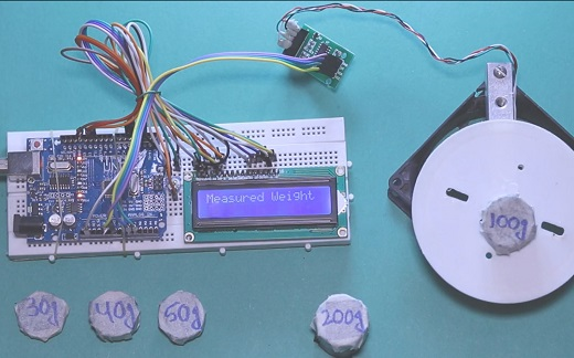 arduino high precision load cell