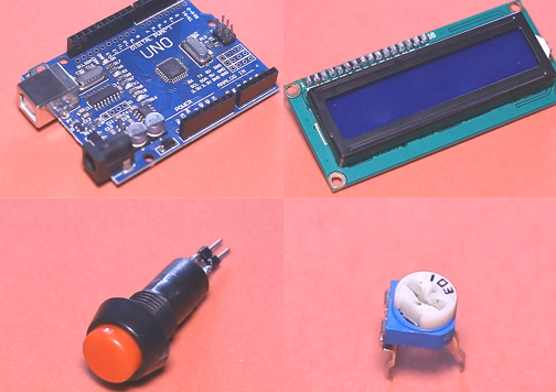Arduino LCD game project