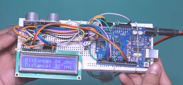Arduino distance measurement project
