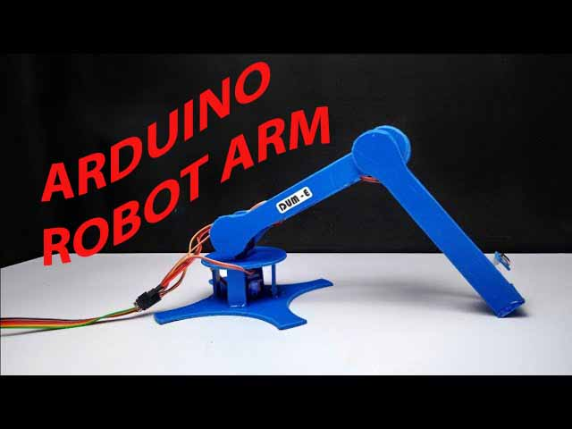 Arduino robot arm project