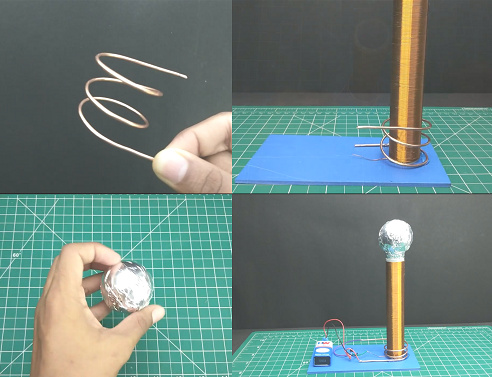 Finishing tesla coil