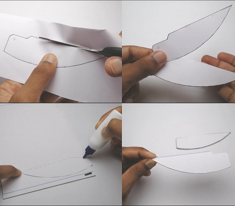 how to make falcon wings