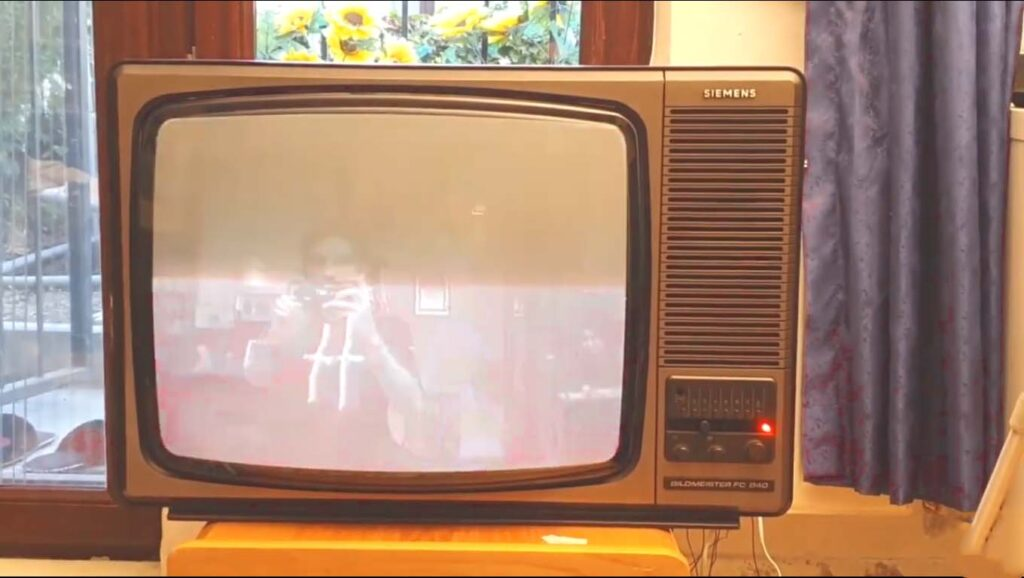 Raspberry pi powered Haunted TV