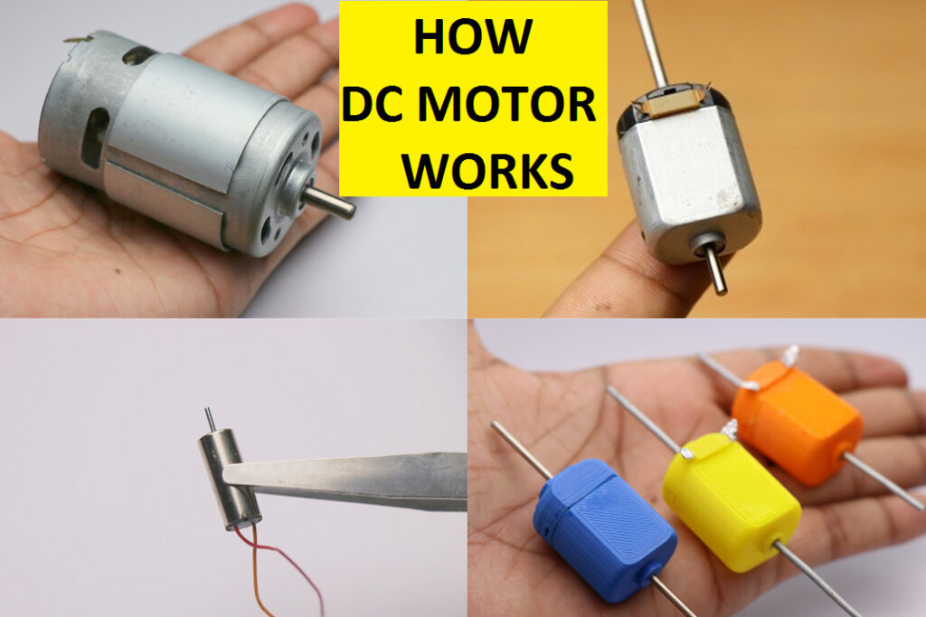 How does a dc motor works