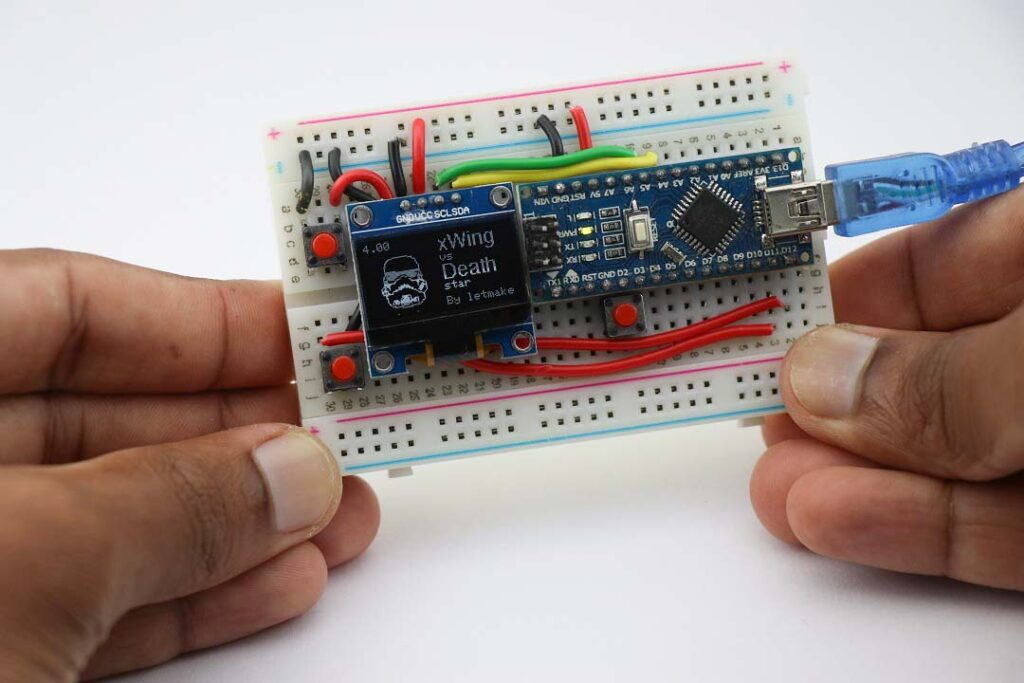 Arduino Handheld game console project
