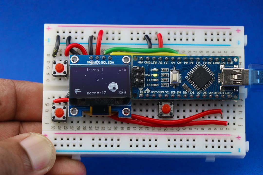 You are currently viewing Easy Arduino Handheld Game Console