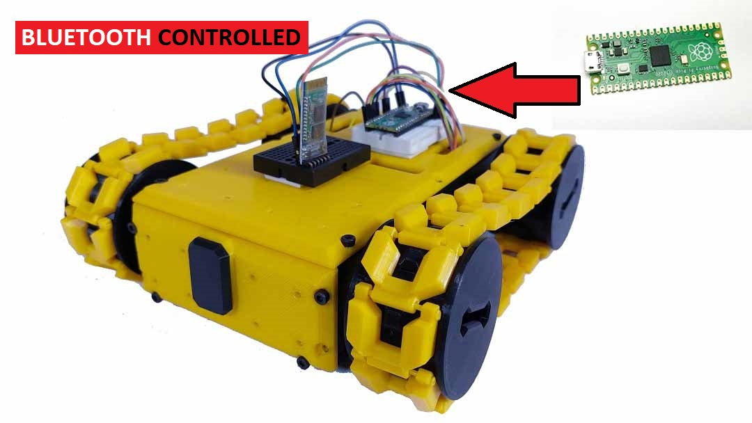 You are currently viewing Make Raspberry Pi Pico Robot Car controlled by Smartphone