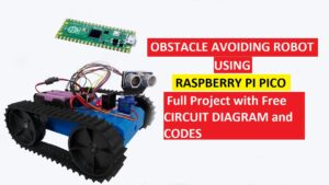 Read more about the article Raspberry Pi based obstacle avoiding robot using ultrasonic sensor